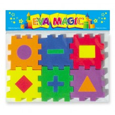 Minicubo Geométrico Goma Eva